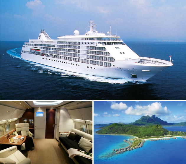 1.1 million EURO cruise the most expensive trips
