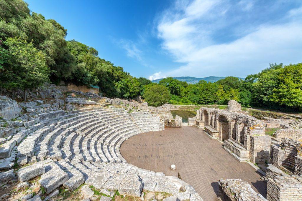 Butrint - Ancient-theater albania.jpg