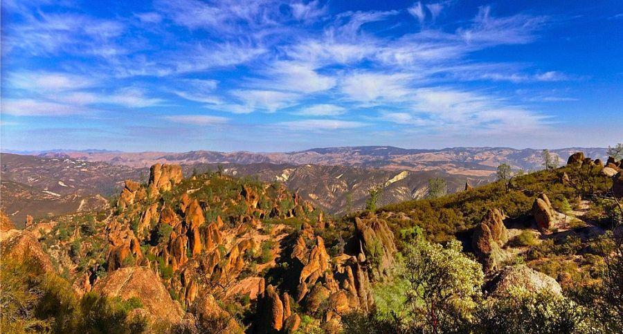 Pinnacle national park visit california