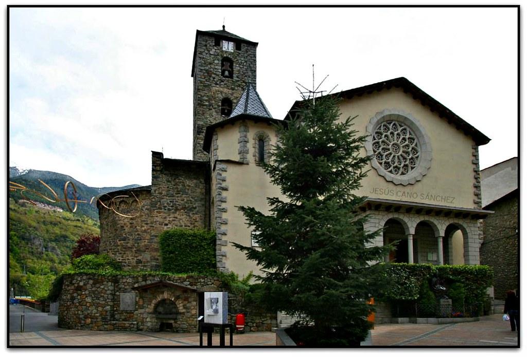 church st. esteve in andorra la vella