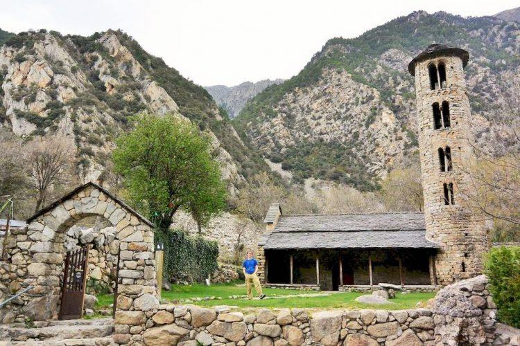 The Church of Santa Coloma tourist attractions in Andorra la Vella