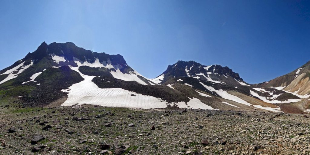 Aragats mountain in Armenia