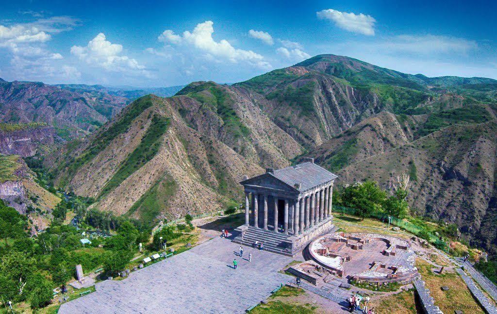 Garni temple Yerevan, reasons to visit Armenia