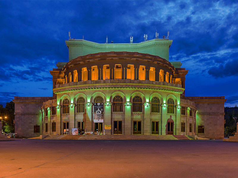 yerevan opera reasons to visit Armenia